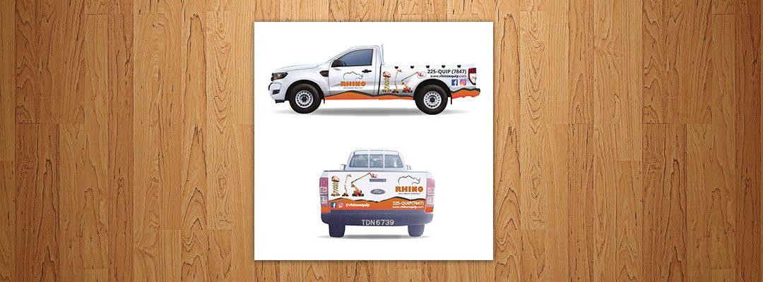 Branded Truck Wrap Design